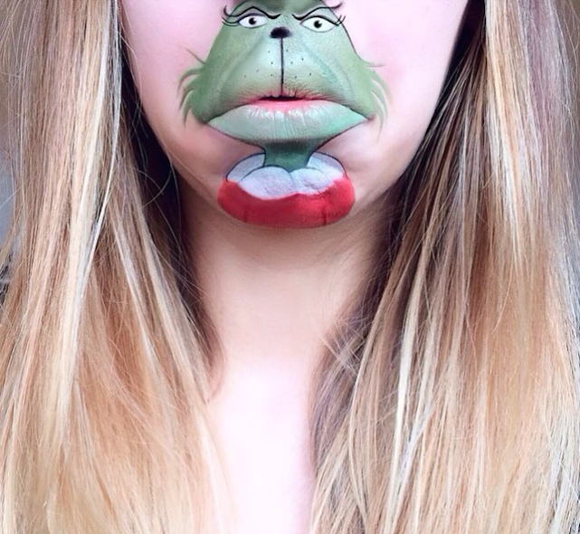 Lip Art Expert Uses Makeup to Turn Her Mouth Into Cartoon ...
