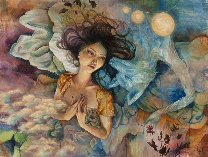 Gorgeous Expressive Paintings By Mandy Tsung