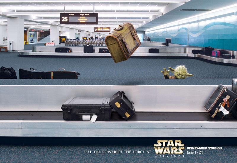 Disney Star Wars Weekend Posters are Awesome!