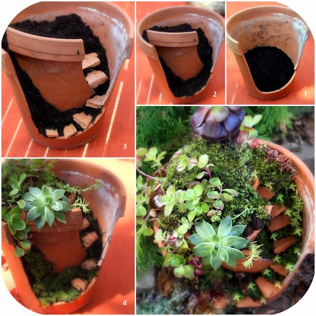Fairy Garden Flower Pots Whimsical diy project transforms broken pots into beautiful fairy whimsical diy project transforms broken pots into beautiful fairy gardens workwithnaturefo