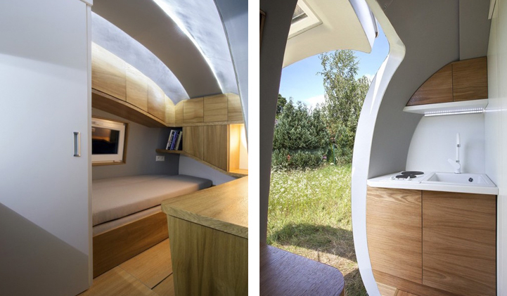 Solar Powered Pod That Allows You To Live Anywhere Is Now