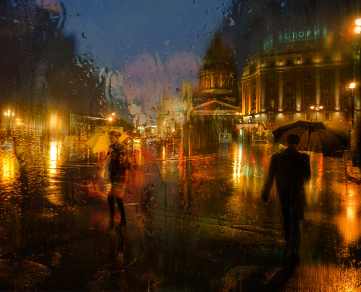 Connect The Colors >> Lovely Rainy Day Photos That Look Like Oil Paintings