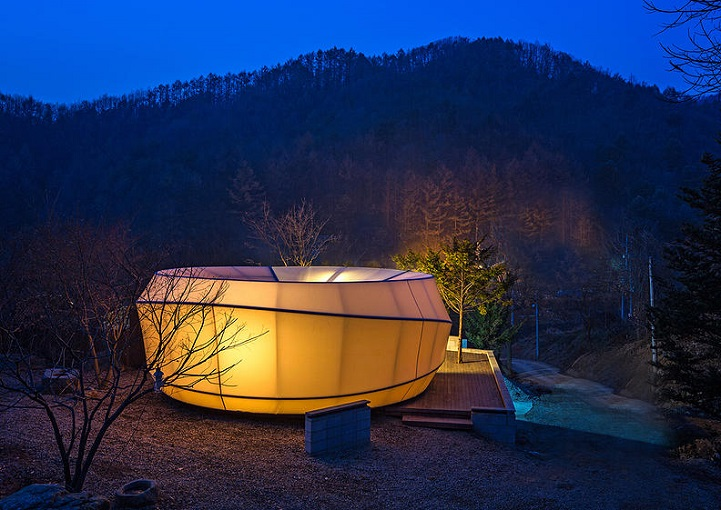 Luxurious Korean Tent Pods Expand The World Of Quot Glamorous
