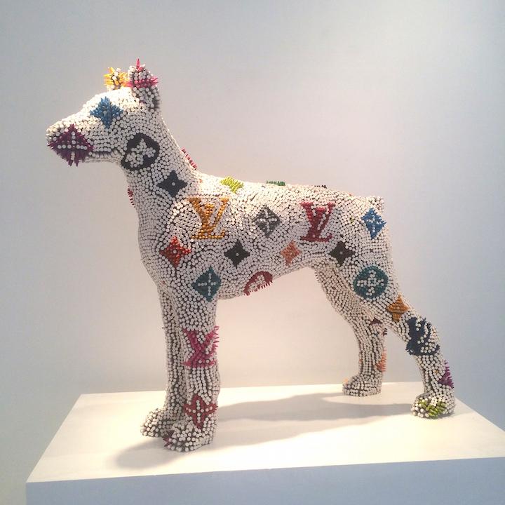 Herb Williams New Crayon Dog Sculptures Merge High