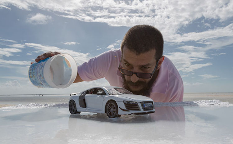 Photos Of 160 000 Luxury Car Created With Small Scale Toy And