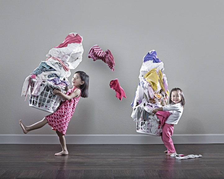 A Father Who Creatively Captures His Kids 20 Photos