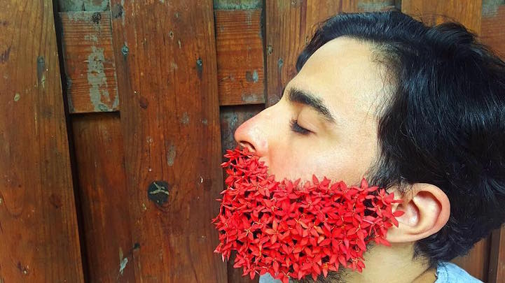 Man Flower Beards