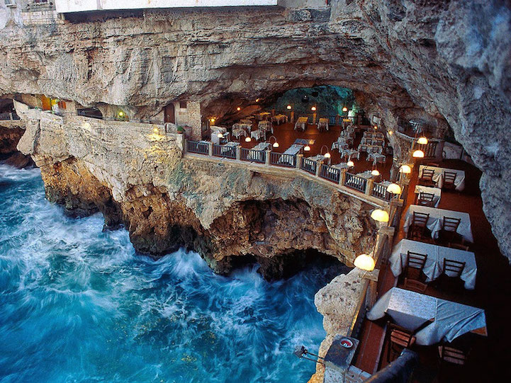 Restaurant Built Inside A Cave Offers Unique Dining Experience Along The Adriatic Sea