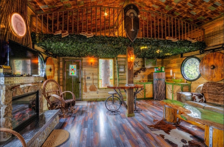 Ring In The Steampunk Decor To Pimp Up Your Home: Lord Of The Rings-Inspired Hotel Invites Guests To Live In