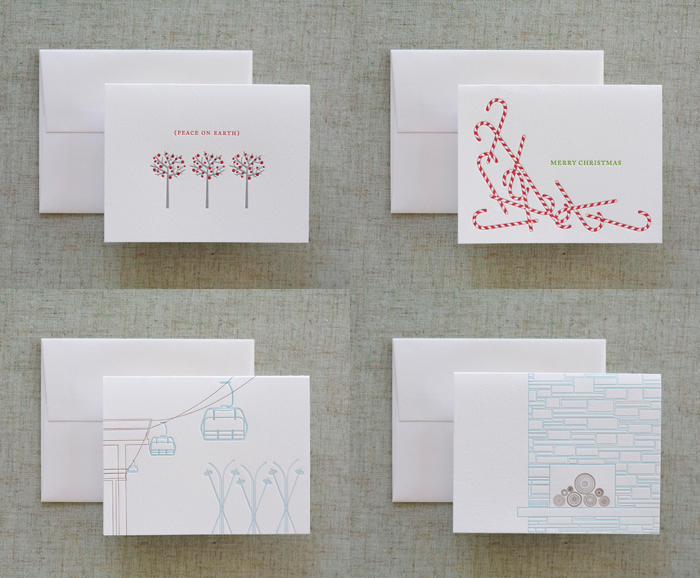 minimalist holiday cards dee amp lala