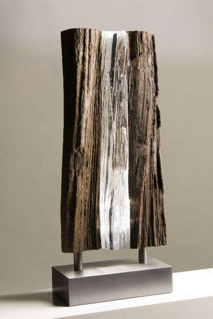 Visually Stunning Juxtaposition Of Wood And Stone With