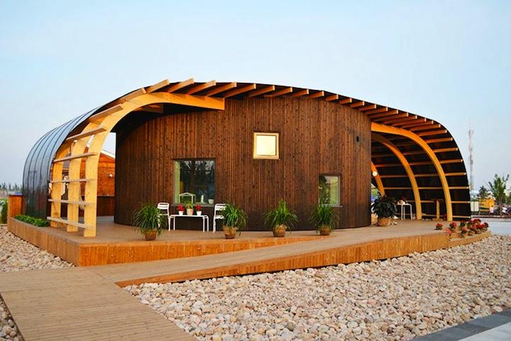 Swedish University Students Design Modern Solar Powered Home
