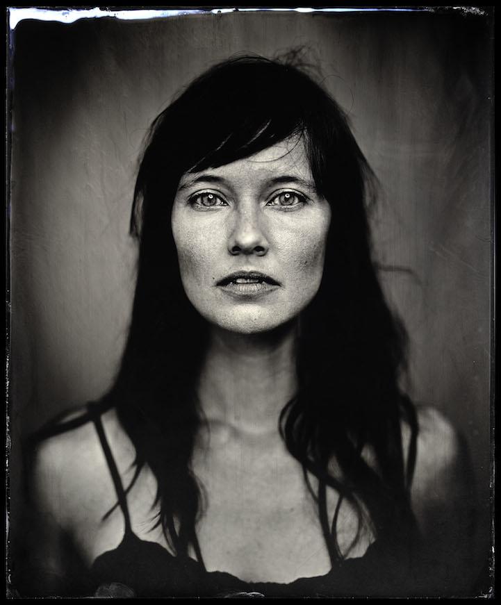 Photographer Takes Arresting Tintype Portraits Of Random
