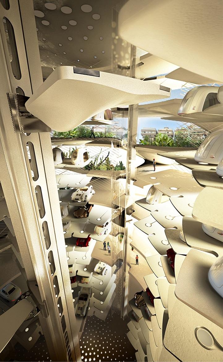 futuristic skyscraper will be a stylish new addition to tel aviv