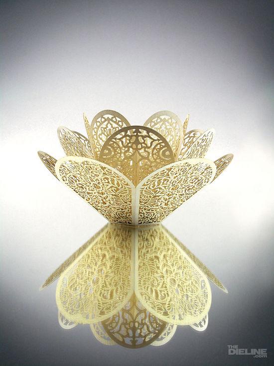 lotus tea light holder  symbolism design packaging