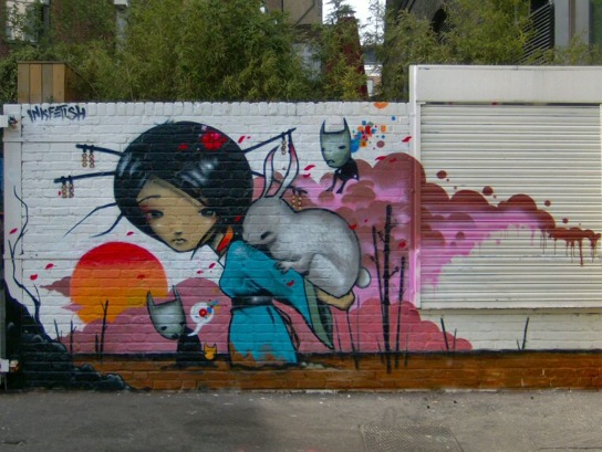 Urban Street Art Inkfetish 7 Murals
