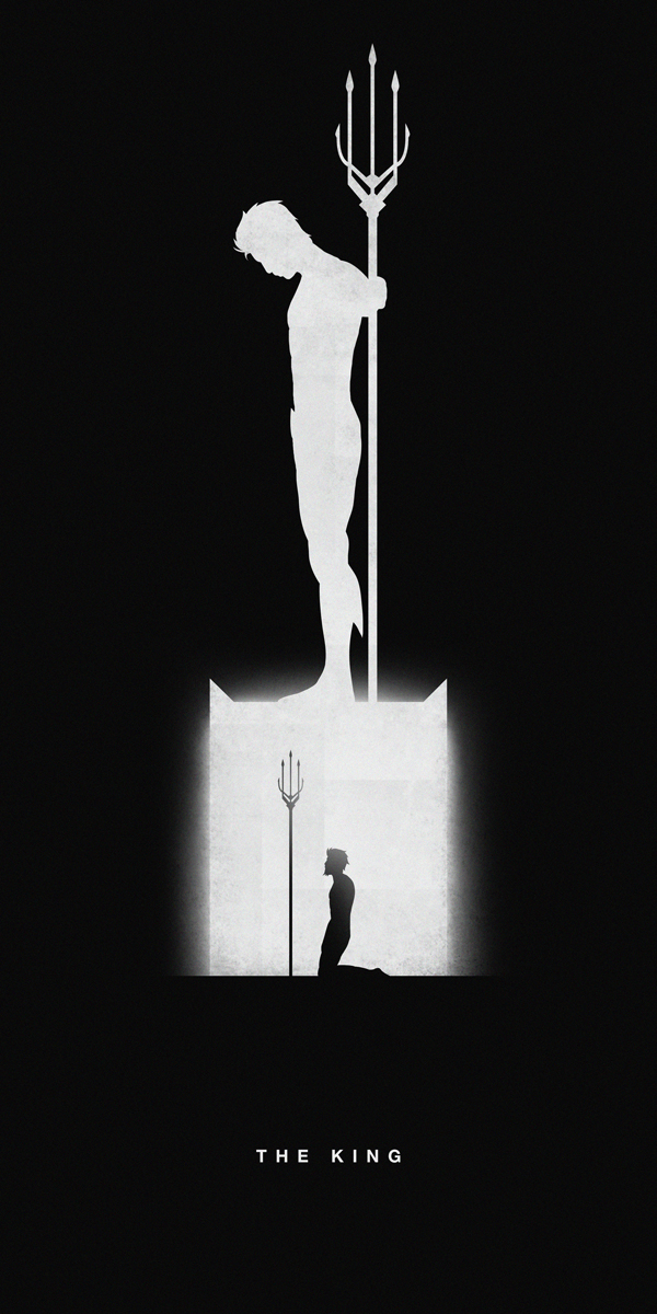 Silhouettes Of Superheroes Reveal Their Past And Present Part II
