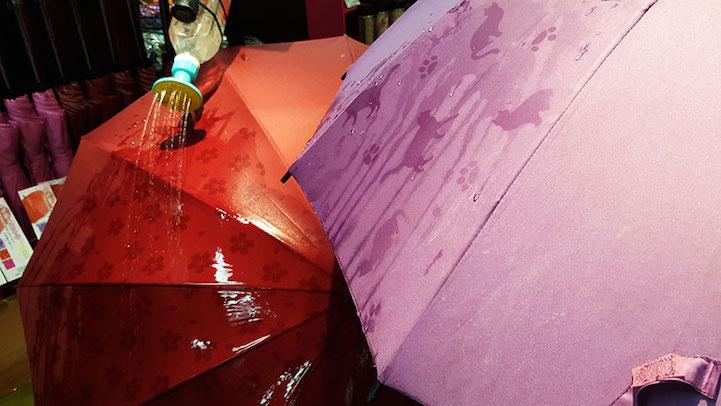 umbrella designs special umbrellas designs change when wet to brighten a dreary day