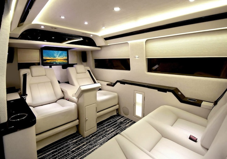 Ordinary Vans Shocking Luxury Interior