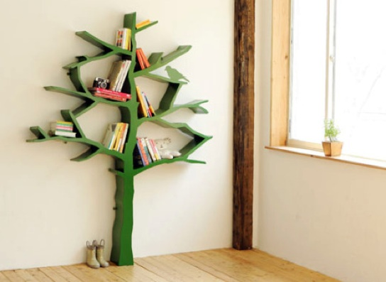 A Beautiful Bookshelf