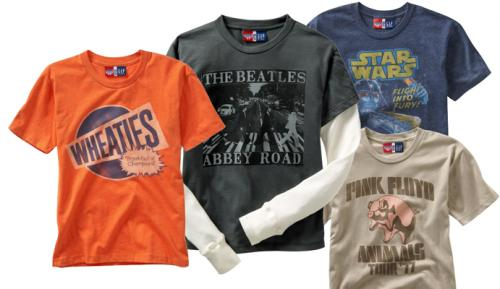 cd4752851 Vintage T-Shirts at the Gap!