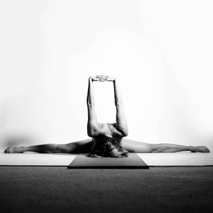 Nude yoga photography all