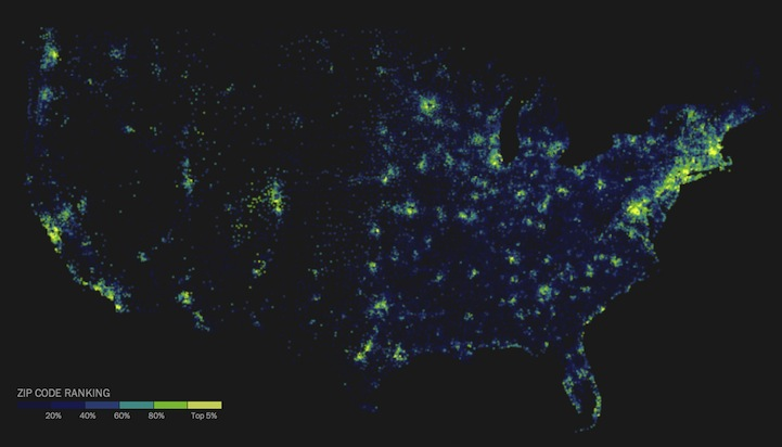 Top Informative Maps That Teach Us Something Uniquely Different - Us college education map
