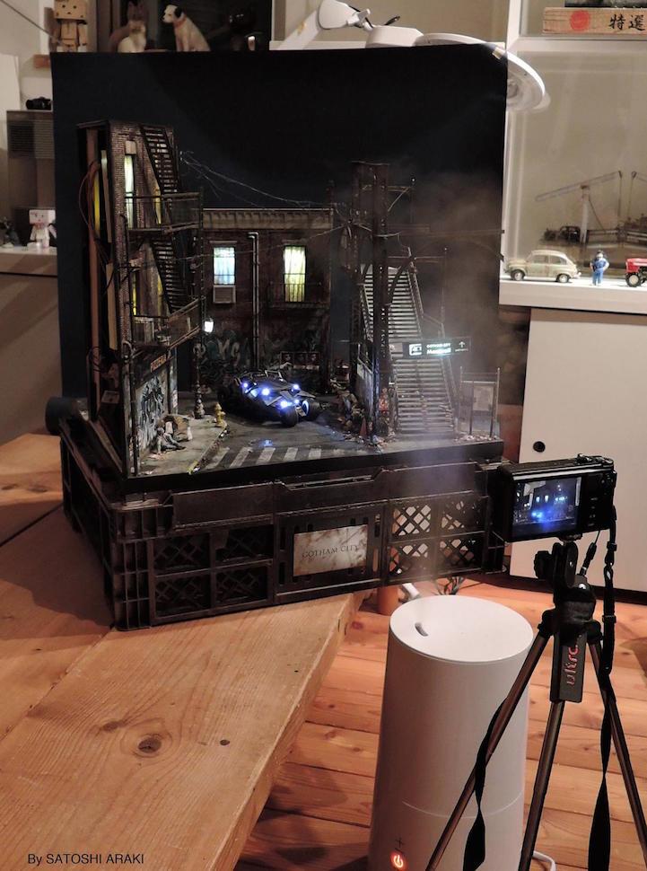 Incredibly Detailed Dioramas Fantastically Look Like Real Life