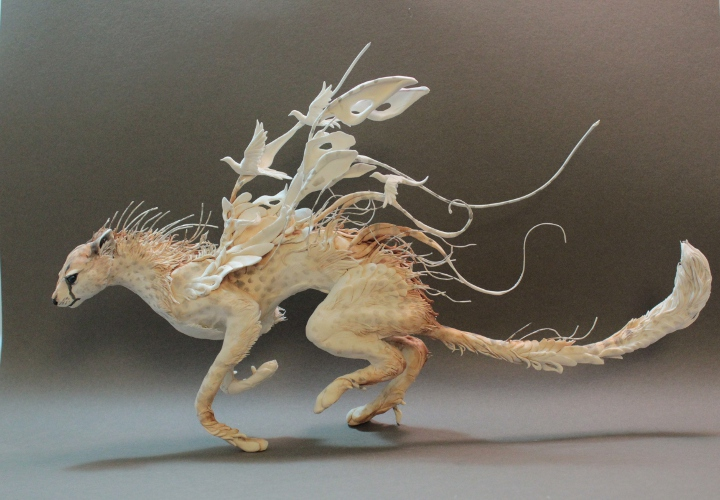 Surreal Hybrid Animal Sculptures By Ellen Jewett - Surreal animal plant sculptures ellen jewett