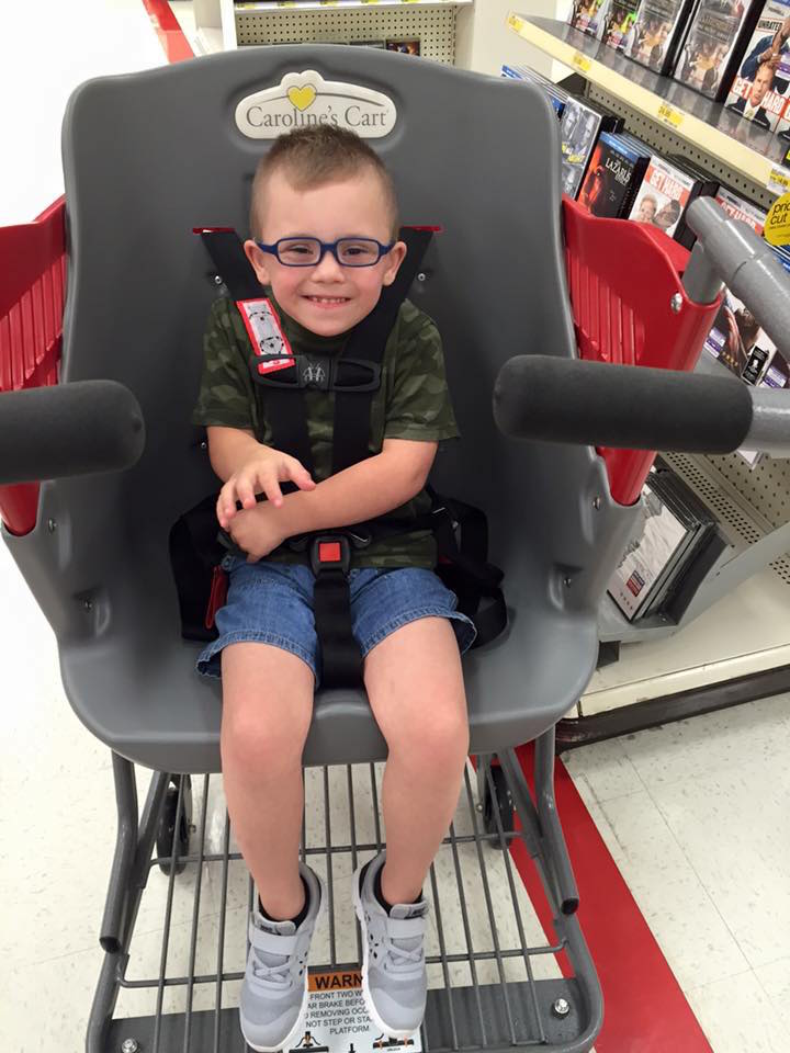 Shopping Cart For Special Needs Children
