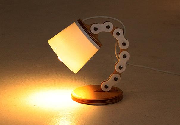 Настольные лампы из фанеры своими руками