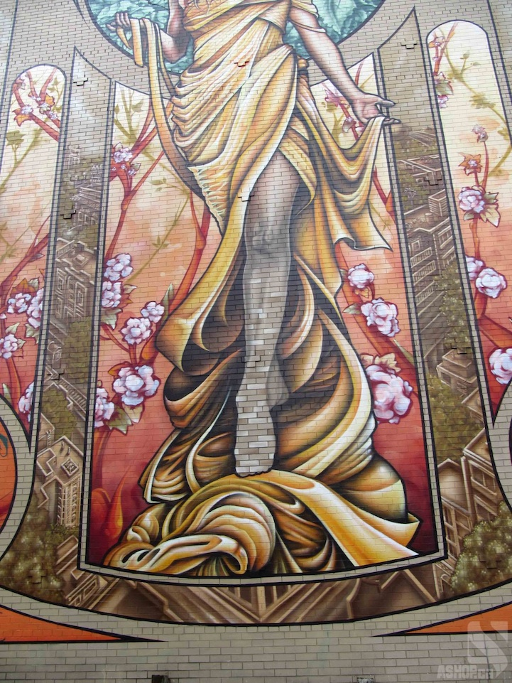 Help Me Find Some Manly Art For My Office Of Manliness. Large Art Nouveau  Sgraffito Wall Mural ... Pictures