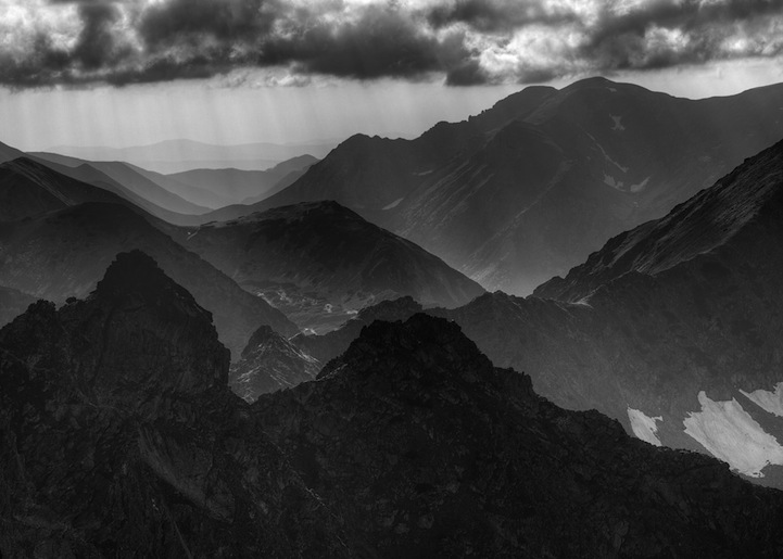 Majestic Black And White Landscapes