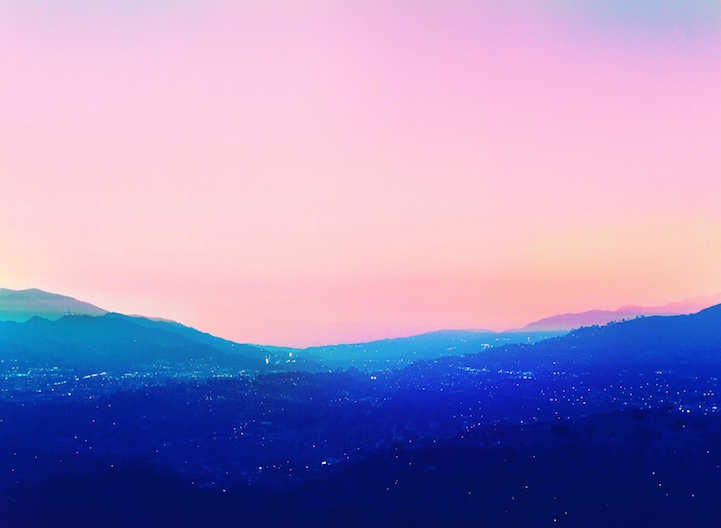 Gorgeous Multiple Exposure Photos Turn Los Angeles into a
