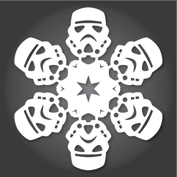New Diy Star Wars Snowflakes