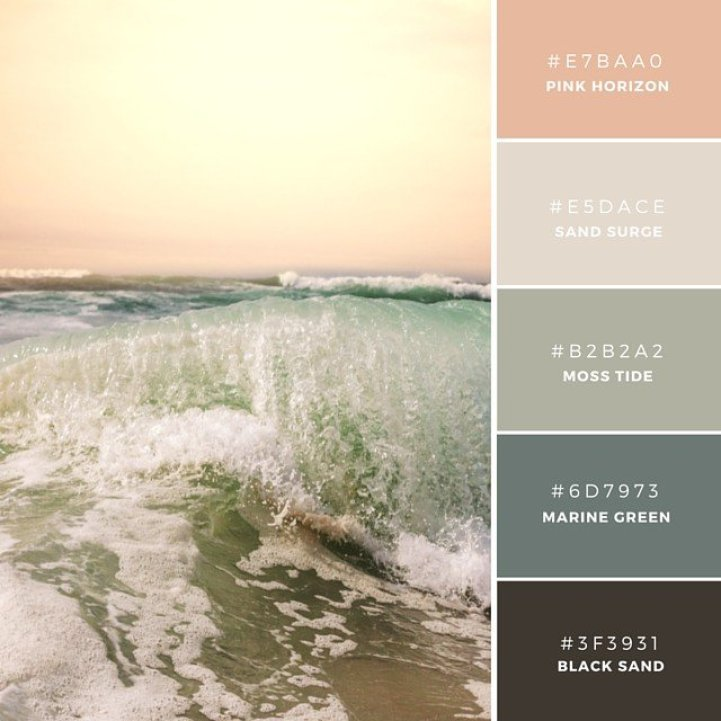 Vibrant Color Palette Combos Take Colors From The World To