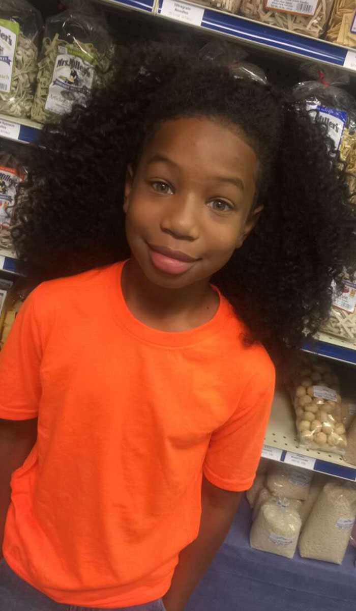 Selfless 8 Year Old Grows Hair For Two Years To Donate To Children