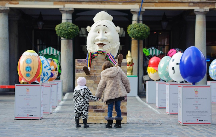 Humpty Dumpty Fairy Tale Comes To Life In London