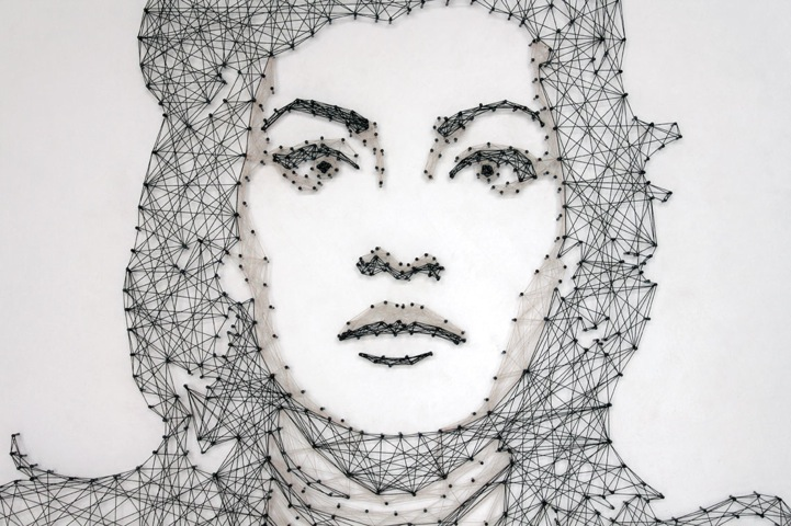 New Thread And Nail Portraits From Pamela Campagna