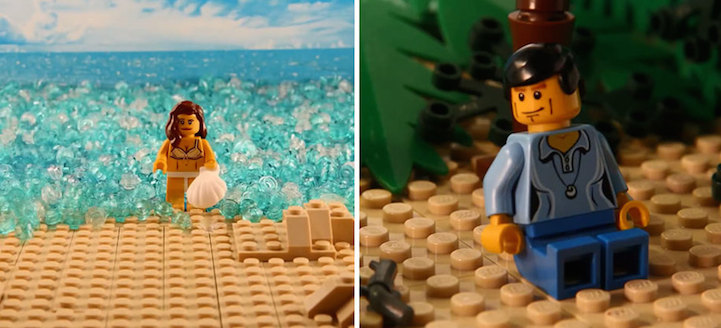 YearOld Recreates Famous Movie Scenes In Amazing LEGO Stop - 15 awesome movie scenes recreated with lego