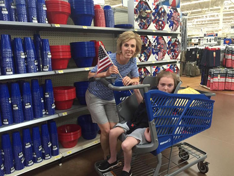 Specially Designed Shopping Cart For Family With Special Needs