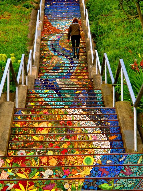 If Youu0027ve Ever Wanted To Find A Hidden Art Gem In San Francisco, Head To  16th And Moraga To Discover The 16th Avenue Tiled Steps. Not Only Will You  Be Able ...