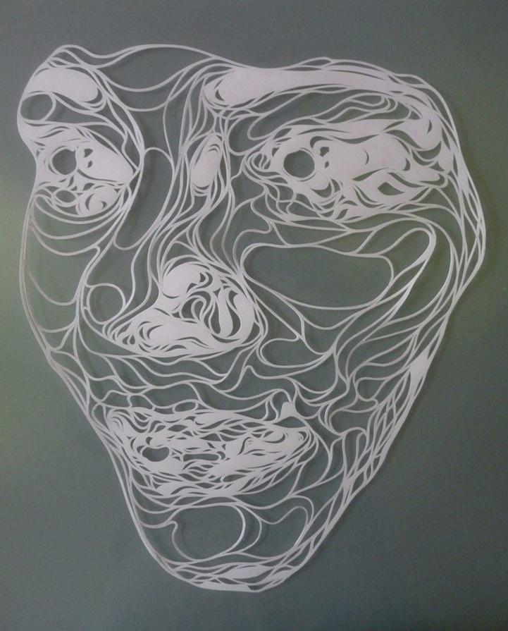 Complex Paper Stencils