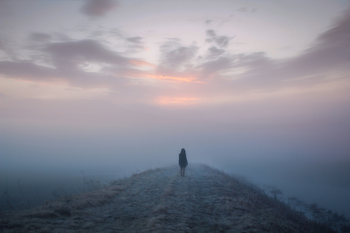Contemplative Figures Find Peace In Breathtaking Scenes Of Nature - Awe inspiring landscape photography elizabeth gadd