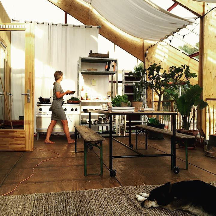 Eco Friendly Family Is Living Inside A Giant Greenhouse For The Next Three  Years