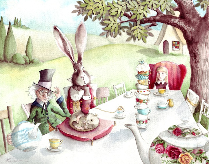 Calendar Illustration Job : Enchanting children s book illustrations