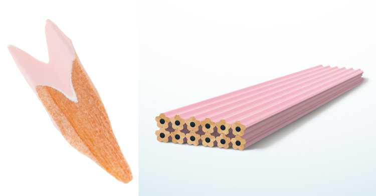 Playful Writing Utensil Pays Unique Homage To Japan's Beloved Floral