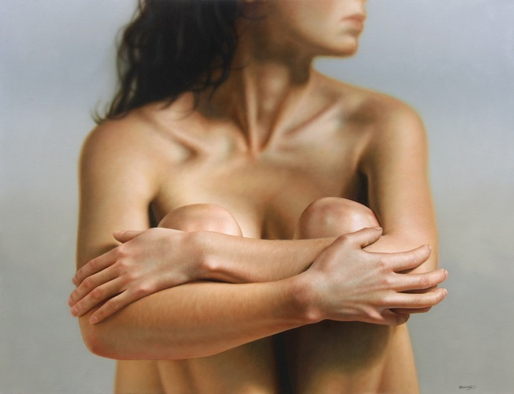 Hyper Realistic Paintings Of The Female Form