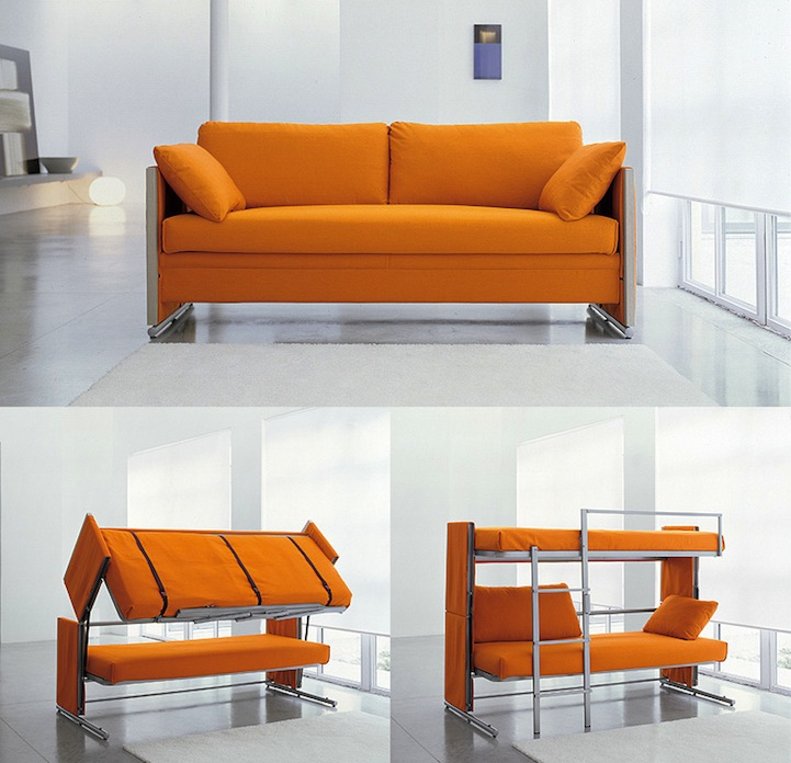 Multifunctional Sofa Bunk Bed