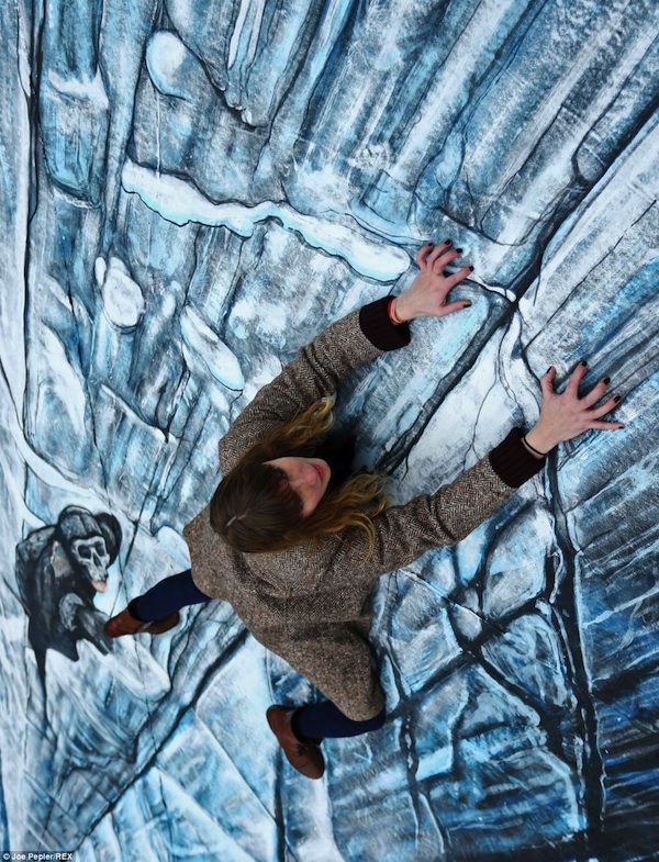 Awesome 3D Illusion Of The Wall From Games Thrones